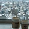 ティーカフェ - 料理写真:コーヒーとカプチーノ