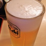 味あい - 生ビール(中)