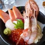 網走海鮮市場 - 海鮮丼