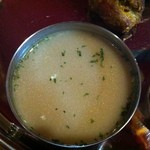 AKASH - Aランチ¥1000 アカースゴールデンスープ