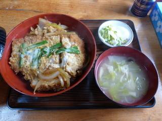 相模屋食堂 - 名物カツ丼 ¥730