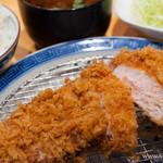 豚組食堂 - スタンダード銘柄豚ロースかつ膳(1.5倍)【2013年11月】