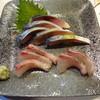 大寿司 - 料理写真:〆サバ&アジ造り