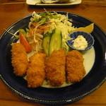 牡蠣料理 田家 - かきフライ定食