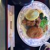 RAIKA - 料理写真:日替わりランチ 唐揚げと カレーコロッケ 690円