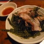 和食個室×しゃぶしゃぶ鍋 にっぽん市 - おつまみに「海ぶどう (580円)」