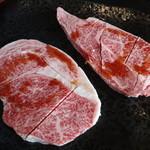 薩摩の牛太 - 料理写真:特選極上ロース・バラ