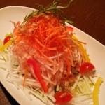 BABYFACE PLANET'S  - パリパリ大根のサラダ(さっぱり梅ドレッシング)