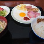 京王プラザホテル札幌 - 1-1)一般的な朝食パターン