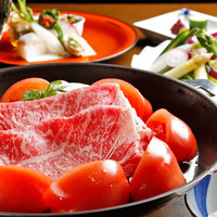 名物 トマトすき焼き