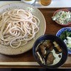 うどん工房 嘉正 - 料理写真:肉汁うどん大盛り