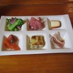 レストラン ローズマリー - ランチの前菜