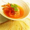 南インドの味 カレーリーフ - 料理写真:「ソフトシェルシュリンプ プチバゲット添え」¥850エビの旨味のスパイスオイルをお楽しみ下さい
