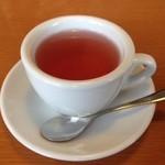 カフェ フルック - ドリンク写真:しそジュース(ホット)
