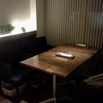 ハイスコアキッチン - 我々のテーブル