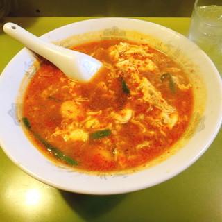辛麺屋 桝元 - 料理写真:辛麺 中辛 レディースサイズ