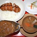 ナイル - カツカレースープセット¥1480