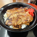 どん亭 - 名物焼肉丼