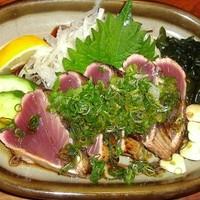 高知の「鮮度抜群の海野幸」、「自家栽培の新鮮野菜」♪