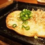 咲くら - ●ふわふわ長芋とろろの鉄板焼き680円 ふわふわの長芋でした。 おいしかったです。山芋大好きです。