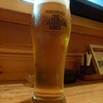 和食感 香ろん - 【H26.3.26】生ビール。