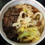 たかのはし  - 料理写真:肉うどん500円