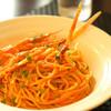 ビストロらあく - 料理写真:手長エビのスパゲティ。美味しくて見た目も良い。