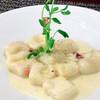 Orto  - 料理写真:自家製じゃがいものニョッキ 3種のチーズソース
