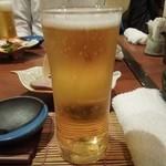 國安 - まずはビールで乾杯♪