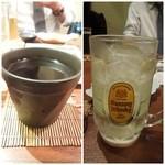 國安 - 焼酎お湯割り、ハイボールも美味しくいただいた!