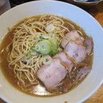 自家製麺 伊藤 - 比内鶏肉そば(中)