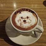 アネア カフェ - ラテ・アートのアンジェリーナ