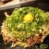 花たぬき - 料理写真:たぬき焼