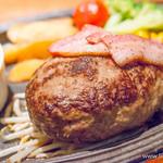 ミート矢澤 - 黒毛和牛100%フレッシュハンバーグ(300g)【2014年3月】