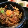 明洞 - 料理写真:海鮮石焼ビビンバ
