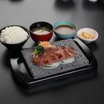 石焼ステーキ 贅  - 消費税増でもまだまだ頑張ります。 zei込1000円ステーキランチ!