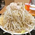 ジャンクガレッジ - 野菜ダブル…  食い切れん(・_・
