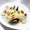 ジオ オーガニックカフェ - 料理写真:あさりとムール貝のボンゴレビアンコ。貝の旨みたっぷりです。