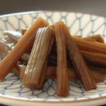 柳橋 小松屋 - ふきの香り、おにぎりの具に