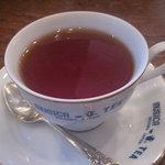 ティーハウス ムジカ - ケーキセットの紅茶