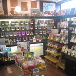 ティーハウス ムジカ - 紅茶の販売スペース