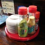 天ぷら かずき - 調味料