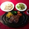 ステーキ・アロワイヨー - 料理写真:牛ロースステーキセット