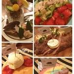 イザカヤ キャリフォルニア - 良い店見つけた!!ヽ(。✪‿✪。) ノ 店内の雰囲気も良くて良い意味で新宿っぽくなくていい!ご飯も美味しい!お肉美味しかった〜!これでハーフです!  また行く!