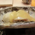 第三春美鮨 - 蒸し牡蛎