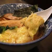 ●【名物】肉厚ワンタン麺