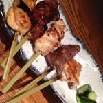 くろべ - 串焼き盛り合わせ