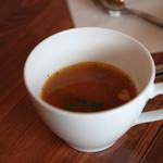 クレープリー カフェ フェルム - ランチスープ