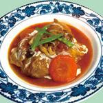 まんま みじんこ洞 - トマトソースのロールキャベツ…700