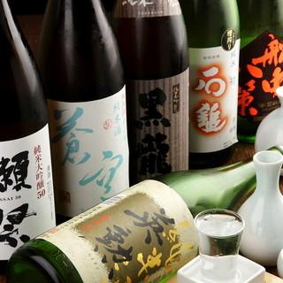 日本酒15種類以上随時ございます♪